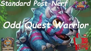 Hearthstone: Odd Quest Warrior #1: Boomsday (Projeto Cabum) - Standard Constructed Post Nerf