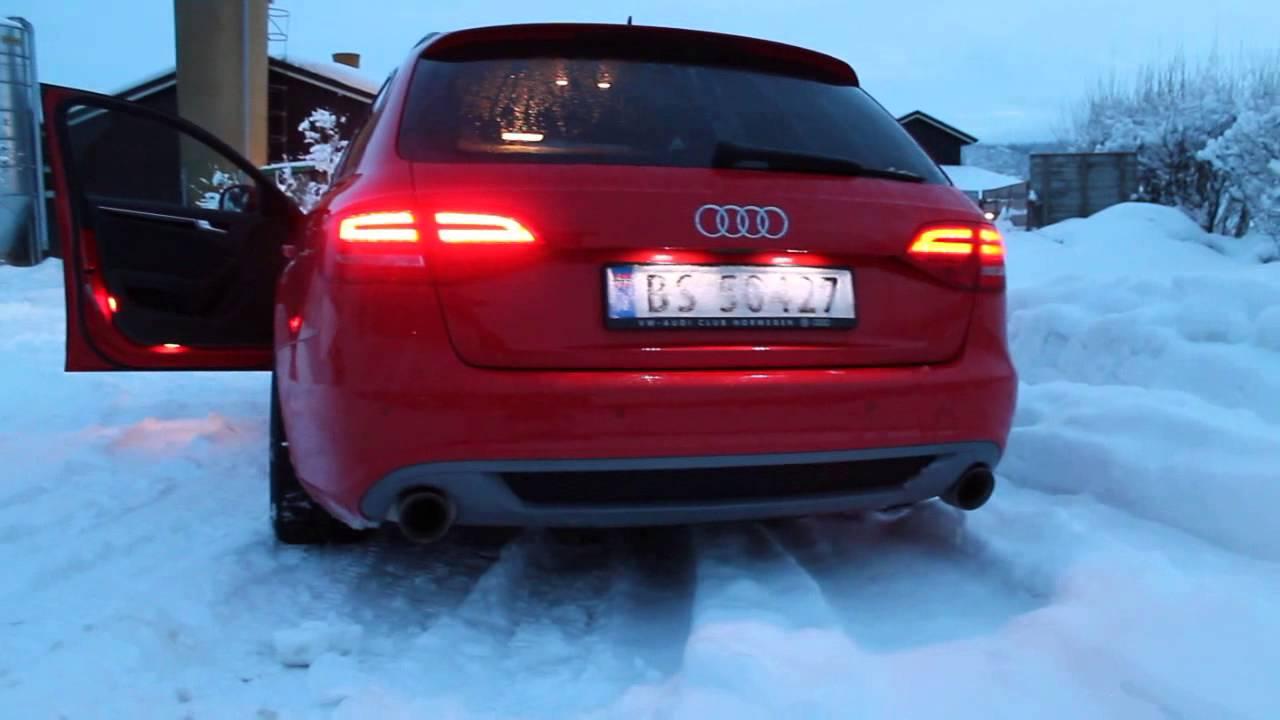 Audi A4 Quattro B8 20 Tdi Milltek