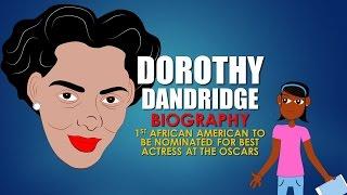 Cartoon Bio for Kids: Dorothy Dandridge. Dorothy Dandridge star of Carmen Jones (Black History)