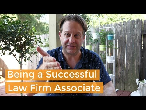 3 Rules for New Lawyers (How to be a Great Law Firm Associate)