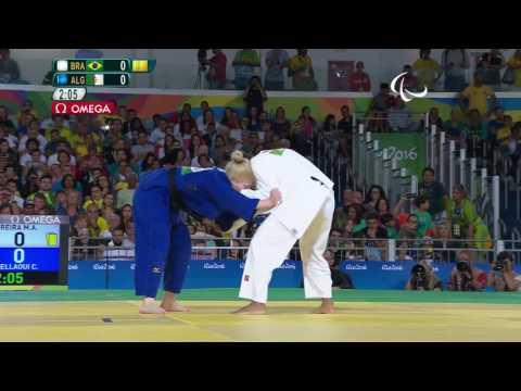 Judo   BRAZIL vs ALGERIA   Women