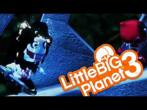 JEFF THE KILLER! - Little Big Planet 3 (LittleBigPlanet)