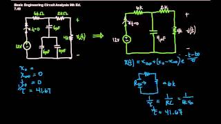 First Order Transient Circuit Analysis