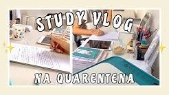 STUDY VLOG: AULAS ONLINE DE MED VET NA QUARENTENA | medvet.i