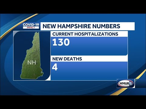 4 more New Hampshire residents die of COVID-19