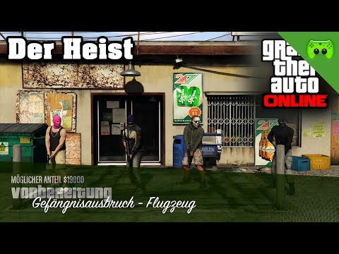 GTA ONLINE # 76 - Der erste Heist «» Let's Play Grand Theft Auto Online | 60HD