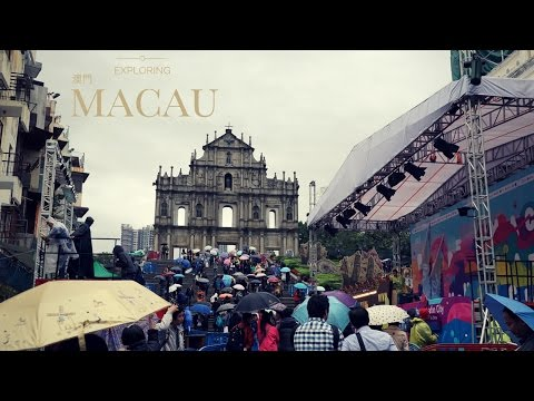 One Day In Macau 澳門: Eating, Shopping, & Batman.