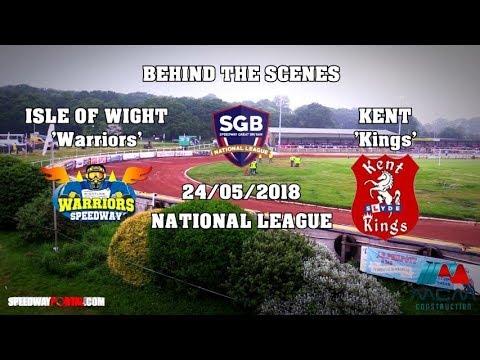 Isle Of Wight 'Warriors' vs Kent 'Kings' - 'Behind The Scenes' National - 24/05/2018