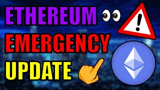 ⚠️EMERGENCY ETHEREUM UPDATE! ETH 100% GOING HIGHER! CHAINLINK EXPLODING! Bitcoin Cryptocurrency News