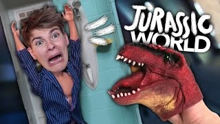 JURASSIC WORLD NACHGESPIELT MIT BARBIES mit JANAklar | Joey's Jungle