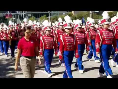 STATE FAIR PARADE DOWNTOWN DALLAS 2016 PART 1
