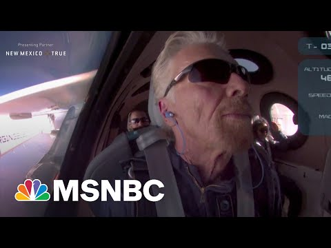 Fmr. Astronaut On Branson's Historic Flight: 'It's A Really Big Deal'
