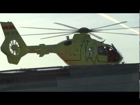 décolage helicoptère de la REGA GENêve Suisse.avi