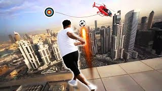 INSANE FOOTBALL/SOCCER TRICK SHOTS | F2FREESTYLERS