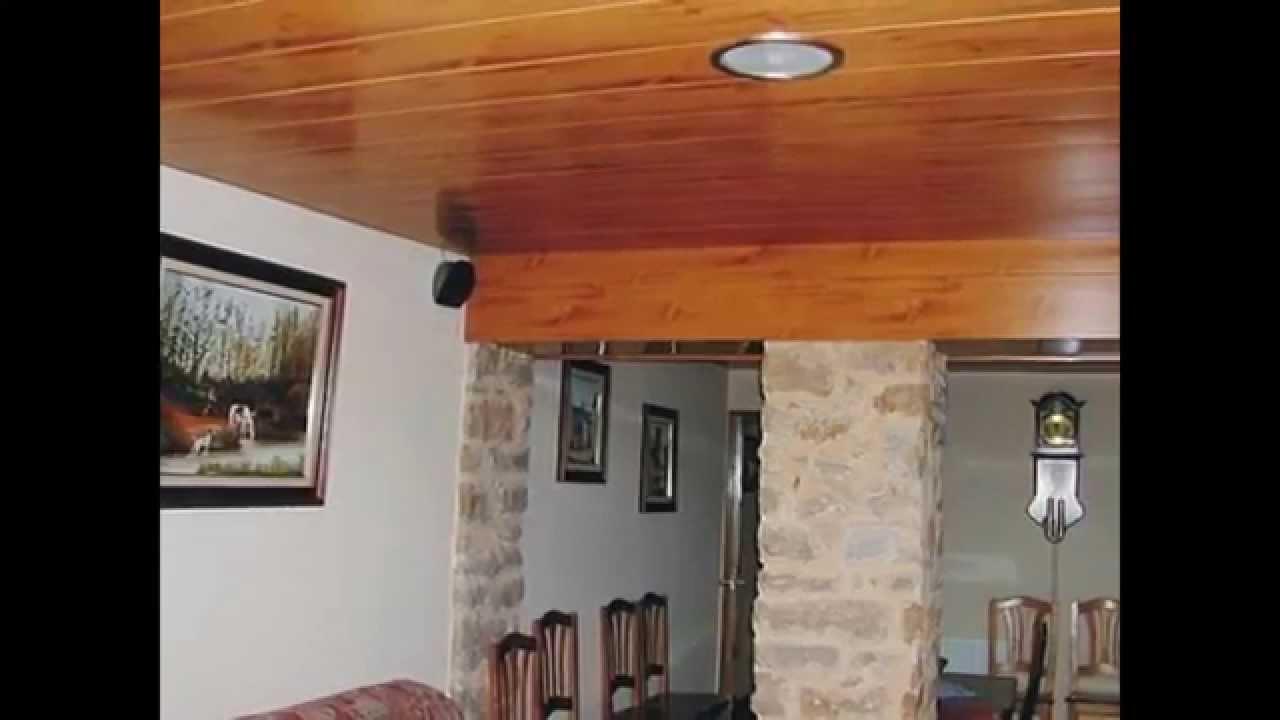 Techos de madera - TechosDeAluminio.com - YouTube