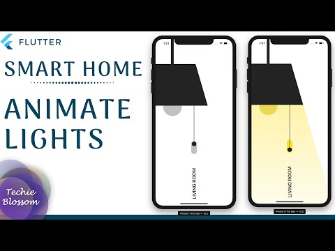 Smart Home - Living Room   Flutter UI