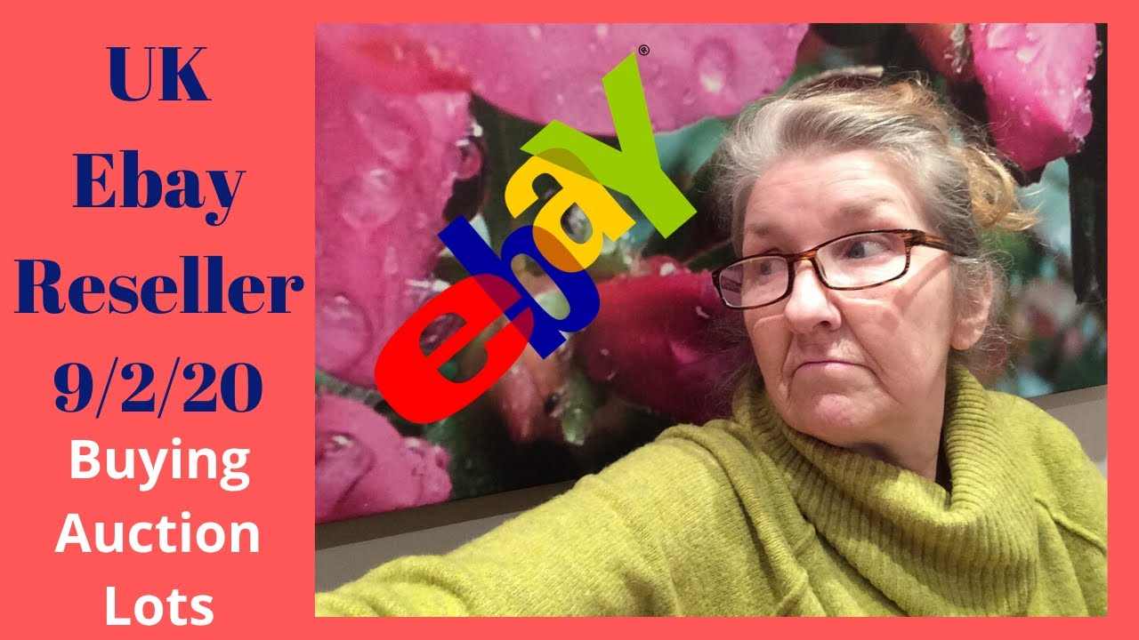 Uk Ebay Reseller Vlog 9th Feb 2020 Buying From Auction To Sell For Profit Youtube