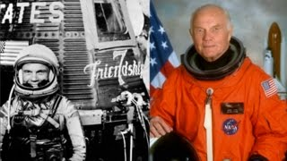 "John Glenn (1921-2016) in ""Friendship 7"" - 1962 NASA Film"
