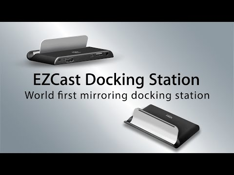EZCast Docking Station - World first entertainment Docking Station for iOS and Android