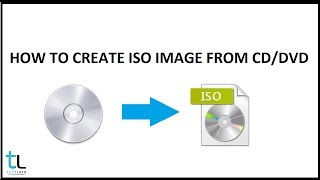 How to create iso image file from CD/DVD