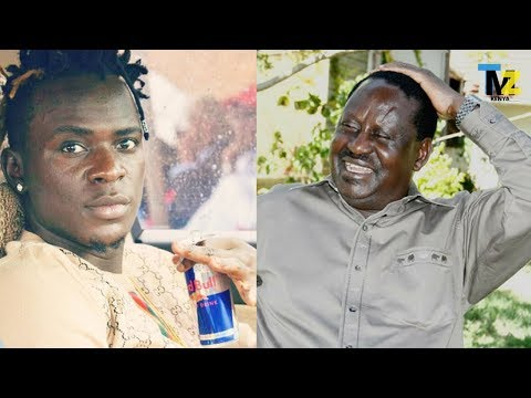 Raila Odingas' reaction to the willy Paul Mungu hana digiri song