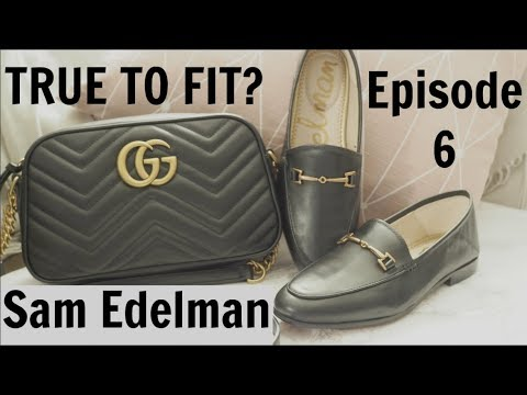 413e882c3b4f True to Fit? Episode 6 | Sam Edelman Loraine Loafers |Gucci loafer dupes