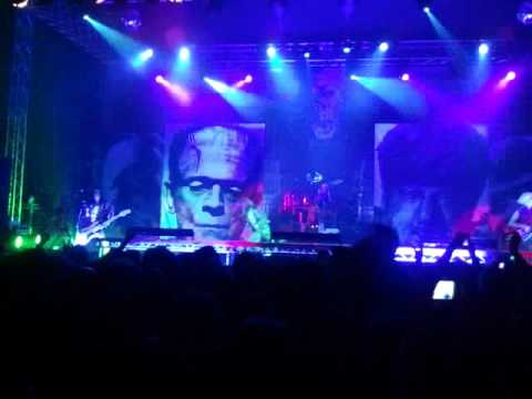 Rob Zombie - Scum Of The Earth - LIVE in Oberhausen 06.06.2011