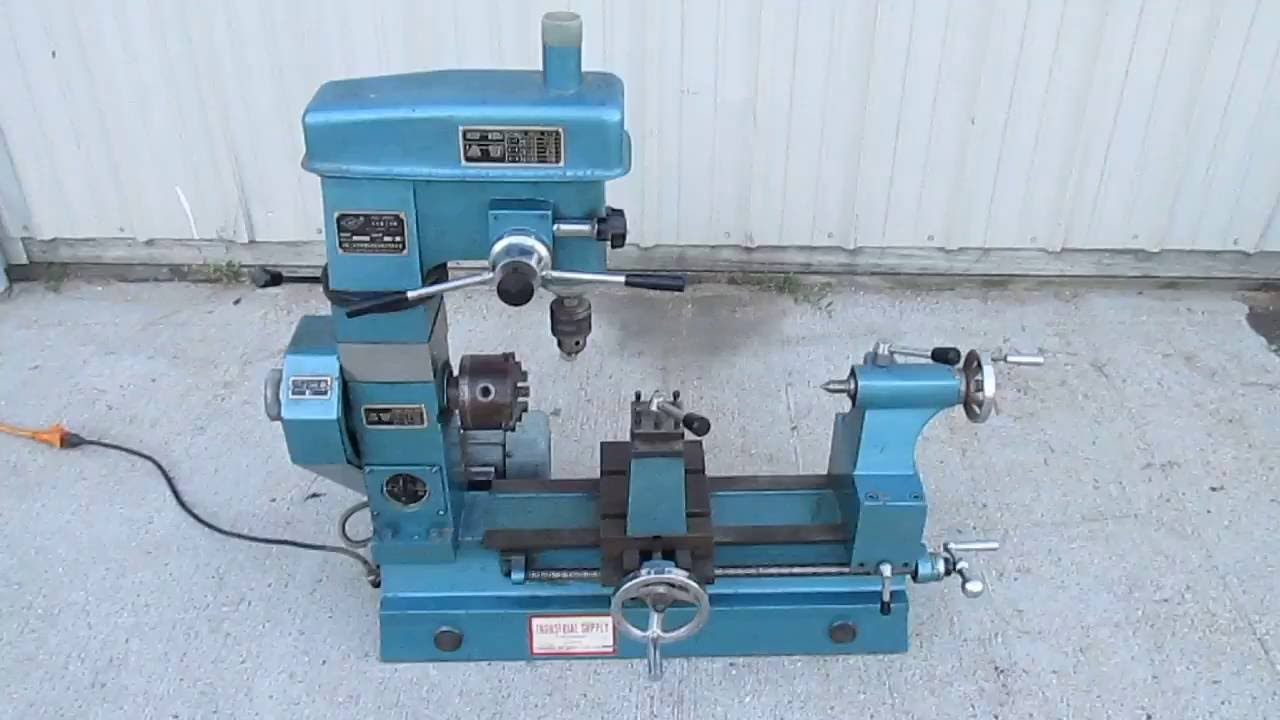 Nice Chizhou Model Hq 400 Multi Purpose Lathe Drill Press