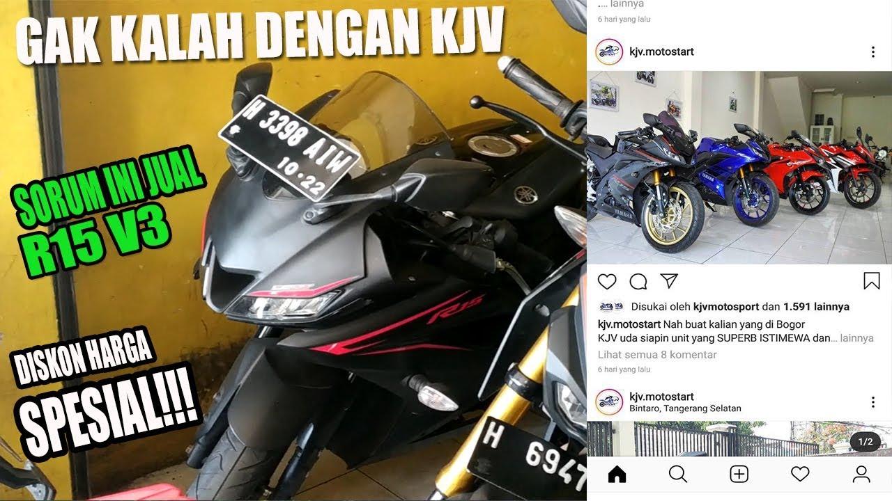 Harga Motor Bekas Yamaha R15 V3 Di Semarang By Inuk Otovlog Youtube