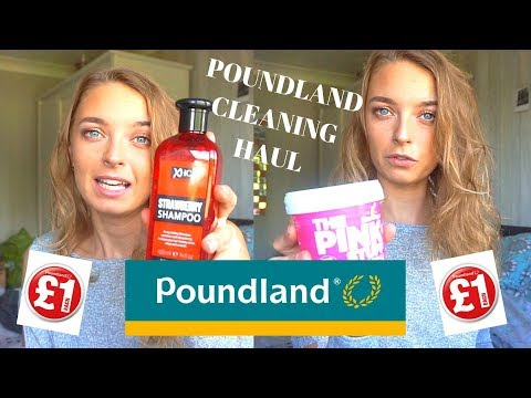 Poundland Haul September 2019 | Cleaning Supplies