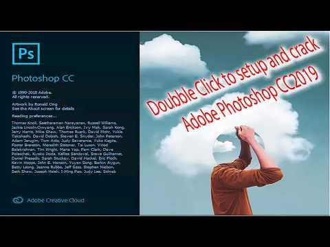 Adobe Photoshop Setup CC 2019