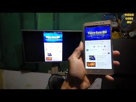 Cara Streaming / Transfer Layar HP Ke TV Menggunakan HDMI Dongle EZcast