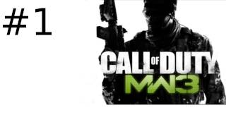 Call of Duty Modern Warfare 3 Multiplayer Gameplay Part 1 - Starting Off on Outpost