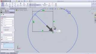 14- SolidWorks Sketch TUTORIAL: CIRCULAR SKETCH PATTERN