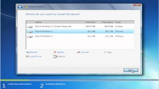Instalare Windows 7 (tutorial video HD)