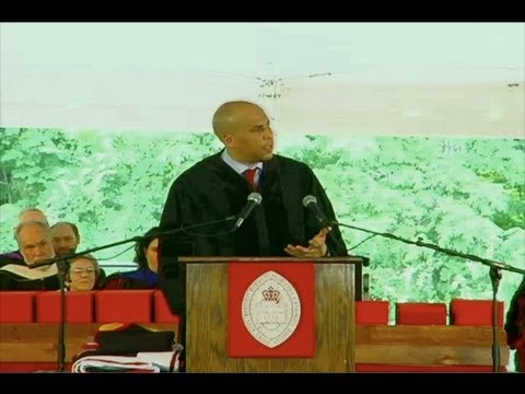Cory Booker Gives Commencement Address at Bard College