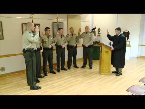 Conservation Officer Swearing In