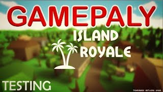 Roblox Island Royale - Gameplay ( NEW FORTNITE GAME IN ROBLOX )