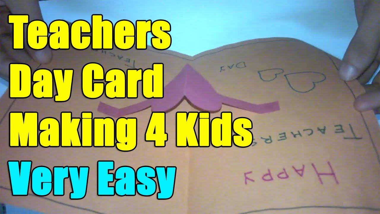Teachers day card pop up ideas teacher th september youtube also rh