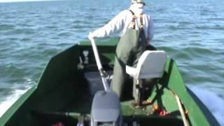 COMMERCIAL GILLNET FISHING 9 MILES OFFSHORE OF FLORIDA FOR SPANISH MACKEREL