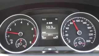 【WOT-100】VW ゴルフ 1.4Lターボ 全開加速