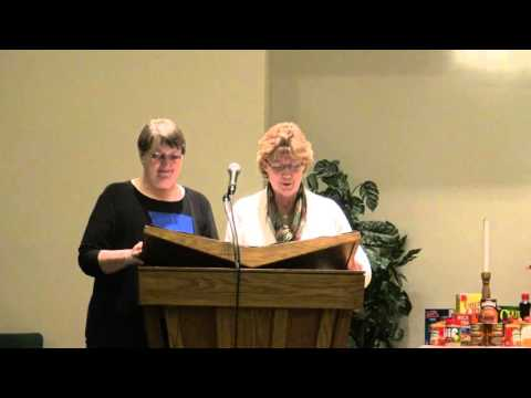 Kay Weaver's Ordination
