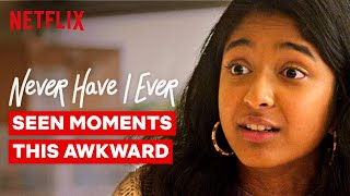 The Most Awkward Moments From Never Have I Ever | Netflix