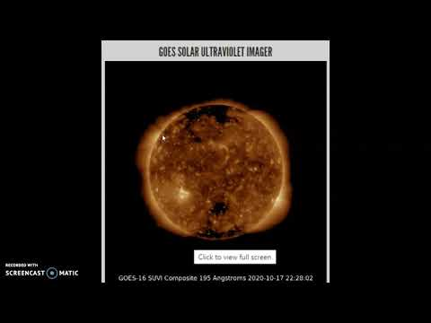 Space Weather October 17th 2020!