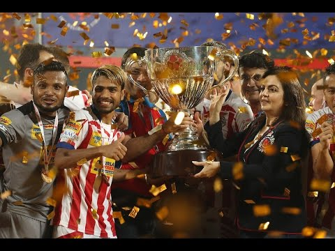 Atletico De Kolkata Break Kerala Blasters FC Heart, Win ISL 2016 Crown