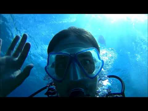First Time Scuba Diving in Hersonissos, Greece (Uncut)