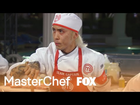 Dino Puts The Red Team At Risk By Not Knowing The Dish | Season 8 Ep. 11 | MASTERCHEF