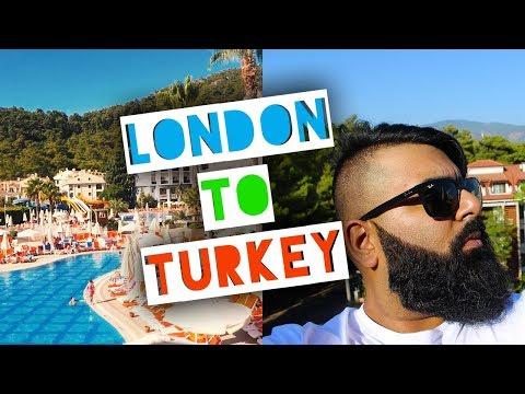 London to Marmaris   Travelling to Turkey   Vlog 6