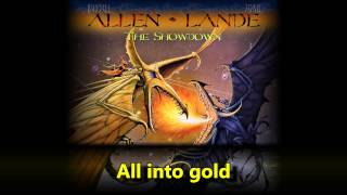 Allen Lande - Turn All Into Gold