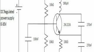 Colpitts oscillator design